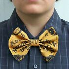 Ouija Board Bow Tie bowtie Boys Men Dads Prom Groom Tux Mystical Oracle