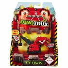 New Dinotrux Diecast Figures Ty Rux Dragonflopter Pounder Scoot Or Skya Official <br/> Ton-Ton D-Structs With Claw Tail Battle Armor Ty Rux