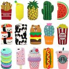 macarons food - 3D Kawaii Food Cartoon Hot Cute Silicone Phone Case Cover Back For Various Phone