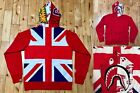 A BATHING APE Men's L Union Jack Shark Full Zip Hoodie Made in Japan New Rare