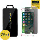 2-Pack SOINEED Privacy Anti-Spy iPhone 7 /7 Plus Tempered GLASS Screen Protector