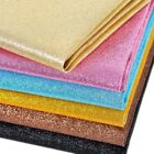 Sparkle Craft Glitter Fabrics Leather DIY Sheet Bow Material DIY Wrap Material