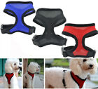 dog harnesses for pulling - Soft Mesh Dog Harness No Pull Comfort Padded Vest for Small Per Cat Puppy Locati