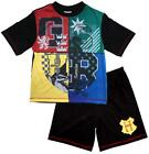 Boys Pyjamas Shorty Harry Potter Pjs Hogwarts Ravenclaw Gryffindor 5 to 12 Years
