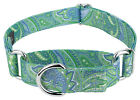 Country Brook Petz Martingale Dog Collar Paisley Collection