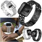 New Stainless Steel Metal Bracelet For Fitbit Versa Smart Watch Band Wrist Strap image