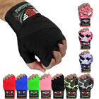 "Boxing Hand Wraps 180"" Wrist Bandages Fist Inner Gloves MMA,UFC, Muay Thai PAIR"