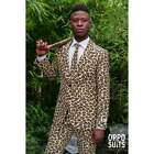 MENS ADULT OPPOSUIT THE JAG ANIMAL LEOPARD PRINT OPPO SUIT OUTFIT FANCY DRESS