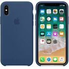 Original Silicone/Leather Case For iPhone X XS Max 6 7 8 Plus Genuine OEM Cover <br/> New Arrival For 2018 iPhone Xr Xs Max 6.5&quot;