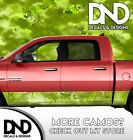 Camo Chameleon Bright Green Rocker Panel Wrap Decal Kit Truck Camouflage DA58RP