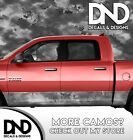 Camo Chameleon Bright Grey Rocker Panel Wrap Decal Kit Truck Camouflage DA59RP