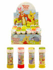 WINNIE THE POOH BUBBLES KIDS PARTY BAG  FILLER WITH WAND & MAZE GAME 60ML