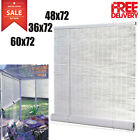 Indoor Outdoor Bamboo Blinds Curtains Roll Up Sun Shade Vertical 30 36 48 60