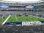 2 New York Giants tickets vs Philadelphia Eagles 10/11 MetLife Stadium- aisle