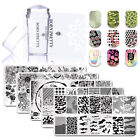3pcs/kit Nail Stamping Plate Clear Nails Stamper Scraper for DIY Stamping Polish $2.99 USD on eBay