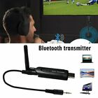 2in1 Wireless Bluetooth Transmitter A2DP 3.5mm Audio Music Adapter for TV DVD PC