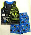 Lego Star Wars Boys 2 pc The Force Shirt/tank Shorts Pajamas sz 4/5,6/7,8,10/12 $14.95 USD on eBay
