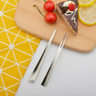 2PCS Stainless Steel Eco-friendly  Coffee Spoon Fruit Fork Ice cream Spoons