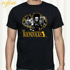 The Boondocks Huey Animated Cartoon Men's Black T-Shirt Size S to 3XL