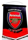 ARSENAL F.C. OFFICIAL LICENSED LARGE  CRESTED PENNANT   AWAY COLOURS