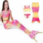 Children'S Clothing Swimming Accessories Swimming Costume Little Mermaid Suit