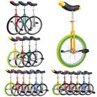 "Внешний вид - 16 18 20 24"" Unicycle Wheel Balance Uni Cycle Fun Bike Fitness Circus Cycling"