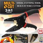 Multi-function Cut 3 in 1 Power Steel Cutting Tool With Built-In Wire Cutter
