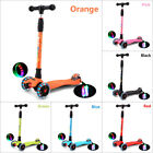 Lightweight Aluminum Freestyle Kick Scooter 4 flash wheels  Adults Teenagers HOT