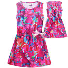 2018 Trolls Kids Girls Princess Dress Casual Party Cosplay Custume O66 image