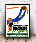 Uruguay World cup 1930 : Vintage advert, poster, Wall art, poster, reproduction.