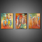 AFRICAN MUSIC DANCE ABSTRACT CANVAS PRINT PICTURE WALL ART HOME DECOR