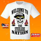 Pittsburgh Steelers Shirt NFL Football Team Jersey Logo Apparel Champion Graphic