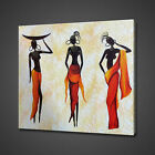 AFRICAN LADIES ABSTRACT CANVAS PICTURE PRINT WALL HANGING ART HOME DECOR