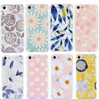 For iPhone 7 8 Plus 7 8 Floral Pattern Case Hot Summer Ultra Soft TPU Cover Skin