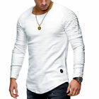 Thermal Men Slim Fit O Neck Long Sleeve Muscle Tee T-shirt Casual Tops Blouse US <br/> ❤️US Seller❤️60 Days Free Return❤️EXTRA 10% OFF 2+ ITEM