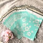 20Pcs - 100Pcs Mint Hawaiian Designer Poly Mailers Envelopes Shipping Bags