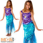 Mermaid Girls Fancy Dress Fairy Tale Sea Princess Book Day Kids Childs Costume