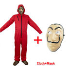 Salvador Dali Money Heist The House of Paper La Casa De Papel COSTUME+MASK