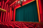 soundproof drapes - THEATER PANEL | COTTON VELVET CURTAIN SOUNDPROOF STAGE THEATRE DRAPE | TEAL