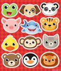 ANIMAL STICKERS KIDS BIRTHDAY  PARTY LOOT BAG FILLER CHOOSE QUANTITY