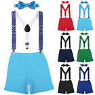 boy birthday outfits for babies - Birthday Cake Smash Photo Shoot Suspenders 3pcs Outfits for Toddler Baby Boys