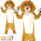 Madagascar Alex The Lion Boys Fancy Dress Book Day Kids Childrens Costume Outfit