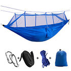 Outdoor Colorful Hammock Camping Canvas Hammock Part With Mosquito Nets