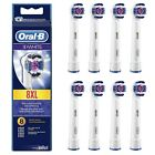 Braun Oral B 3D White Replacement Electric Toothbrush Heads 2, 3, 4 or 8 NEW