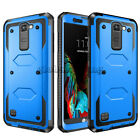 For LG Escape 3/ K8/ K7/Phoenix 3 Case Shockproof Hybrid Rugged Hard Armor Cover