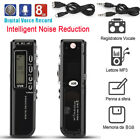 Rechargeable Digital Audio Sound Voice Recorder Dictaphone Telephone MP3 Player