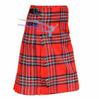 New Men's 5 Yard Scottish Kilts Tartan Kilt 13oz Highland Casual Kilt 6 Tartans