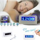 Fashion Electronic Calendar LED Fluorescent Digital Alarm Clock Message Board