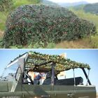Camping Military Hunting Woodland leaves Camouflage Camo Army Net Netting Hot XC