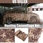 Desert Camouflage Military Net Camo Netting Hunting Camping Tent Cover XC